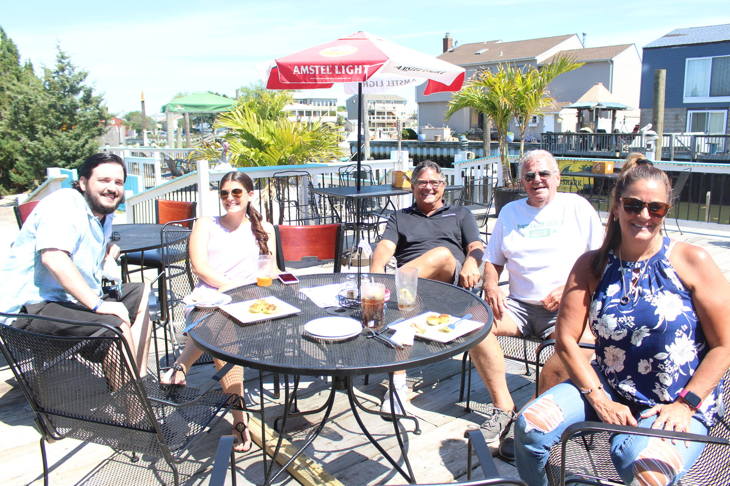 The Bennett family dined at Sonny's Canal House on June 19.
