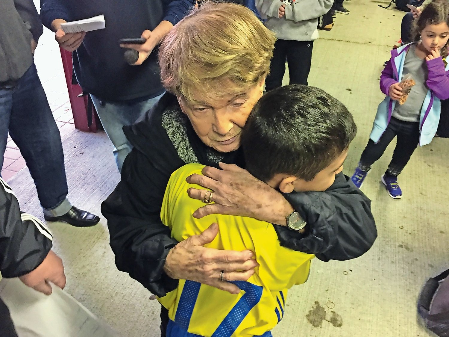 Bessie Lamonica, one of the founders of the first girls' soccer league in Oceanside, died on June 14, at age 93. She dedicated decades to serving boys' and girls' youth soccer teams, volunteering for the Oceanside United Soccer Club and the Long Island Junior Soccer League.