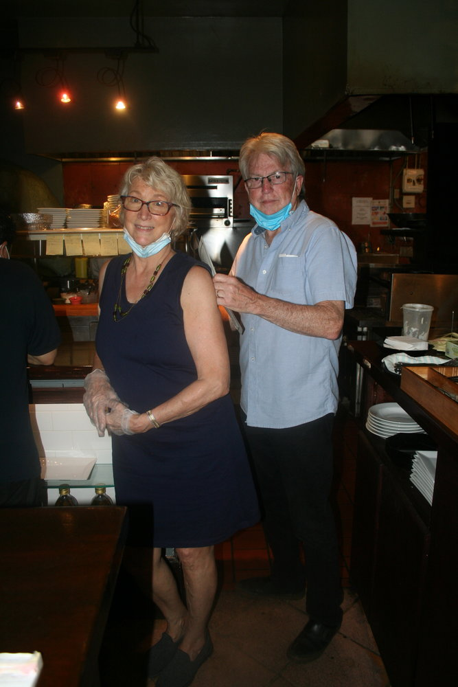 Metropolitan Bistro owners Anita and Bill Long said they could not be more thrilled to be serving customers once again.