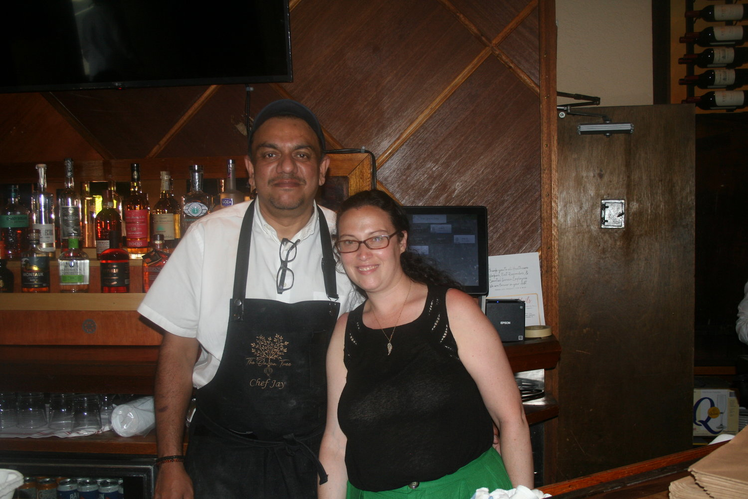 Since it opened up only two weeks before they were forced to close, Onion Tree owners Jay, left, and Raquel Jadeja said they are excited to serve many customers for the first time.
