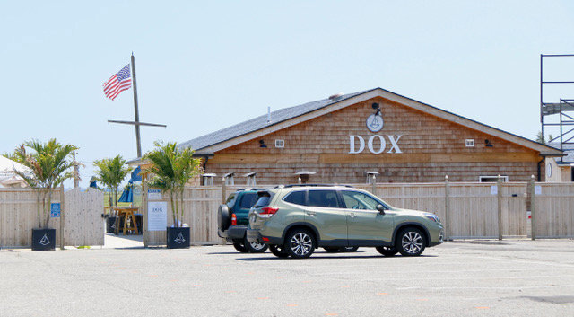 Dox in Island Park became the first Long Island business to have its liquor license suspended by the State Liquor Authority for multiple violations, including a lack of social distancing