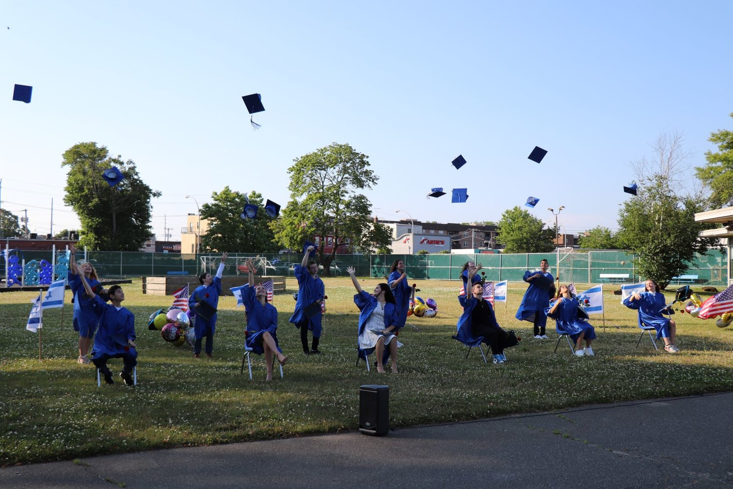 Brandeis eighth-graders celebrated their graduation from 