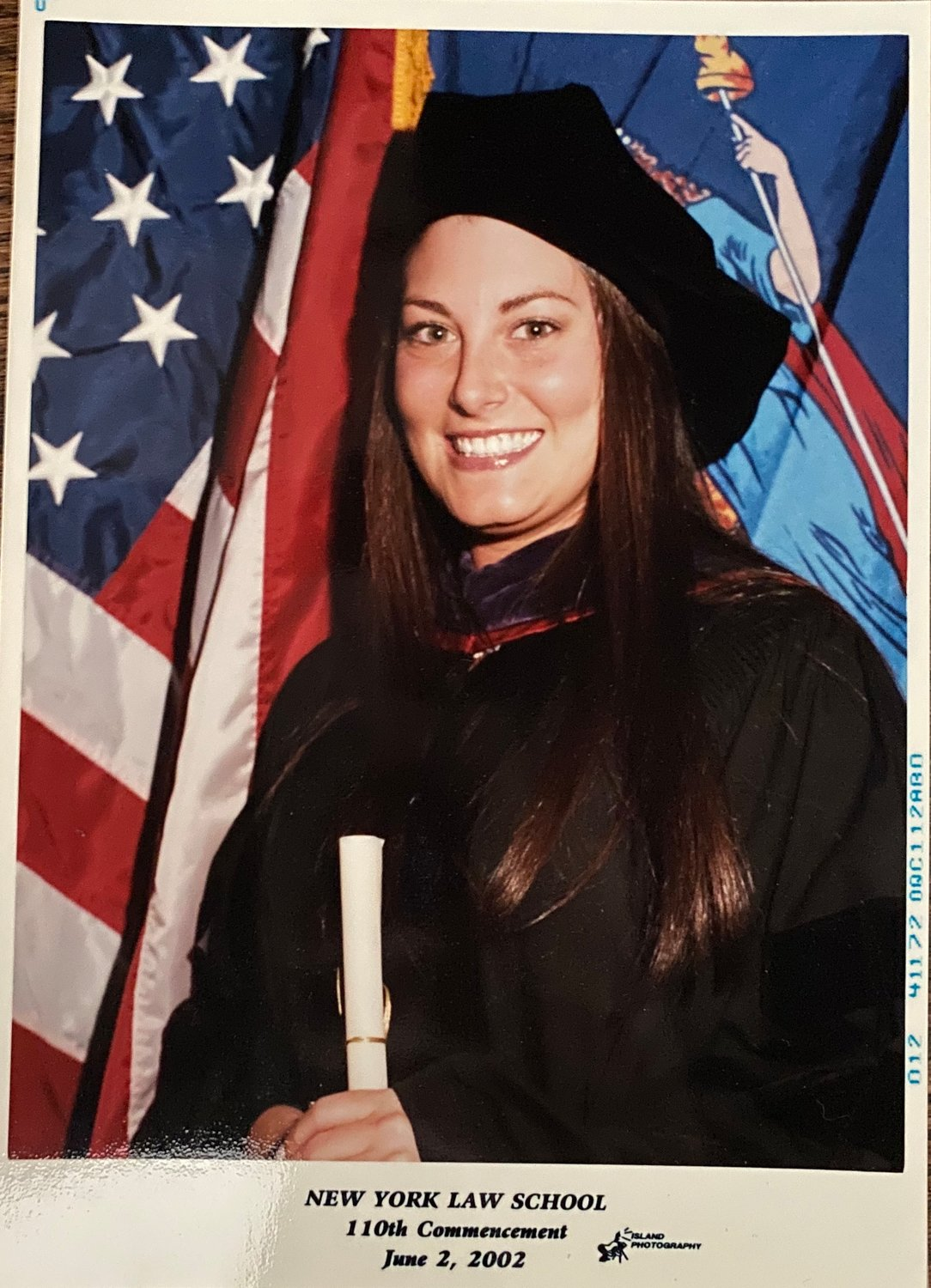 Sara Director, a Barasch McGarry Salzman & Penson partner from Locust Valley, graduated from New York Law School in Lower Manhattan in 2002. Director, along with her classmates, witnessed the attacks.