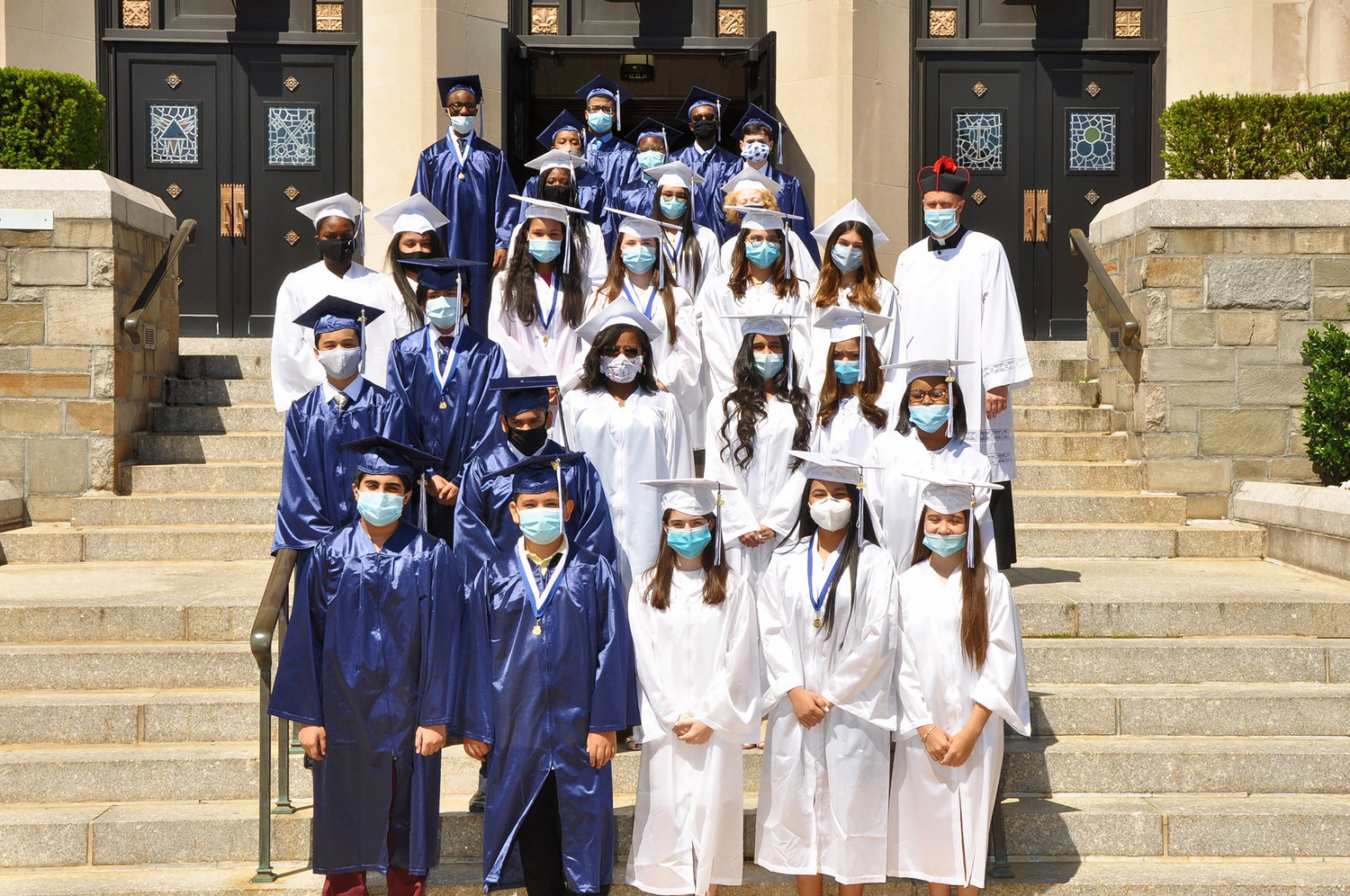 Students of the St. Christopher School class of 2020 graduated on June 13.