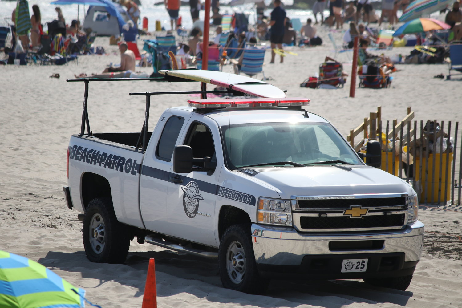 Long Beach Lifeguards rescued two people on Sunday. A third swimmer was pulled out of the water and taken to the MSSN emergency room, where he was pronounced dead.