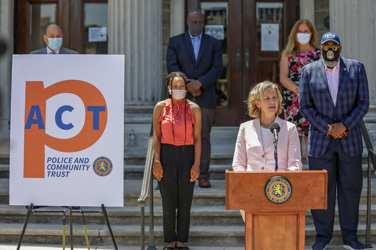 Nassau County Executive Laura Curran announced the initiative on June 17.
