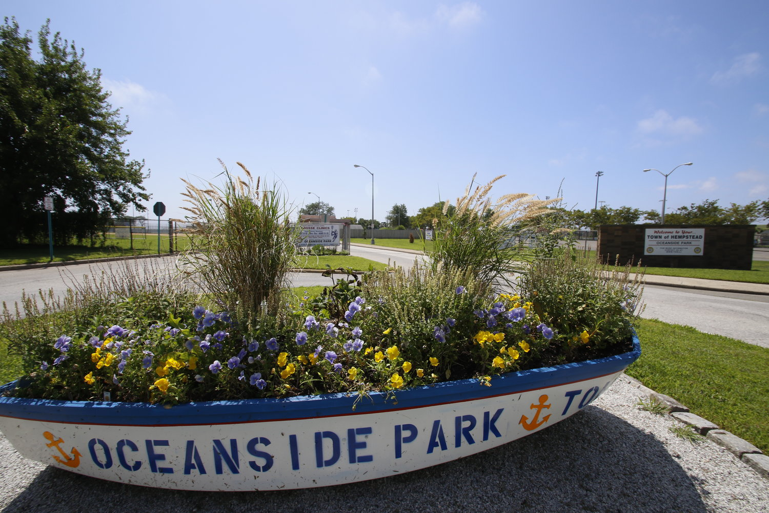 Oceanside Park will be the site of this year's Oceanside High School graduation ceremony, which is usually held on the school football field.