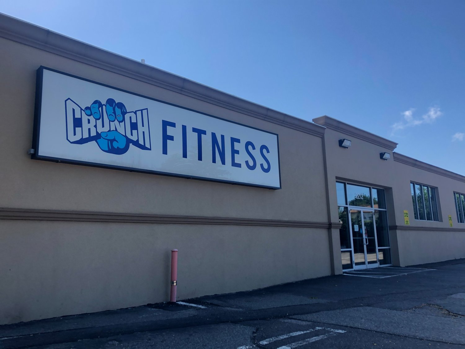 Crunch Fitness, in Bellmore, has all safety protocols in place and awaits the governor's word to reopen.