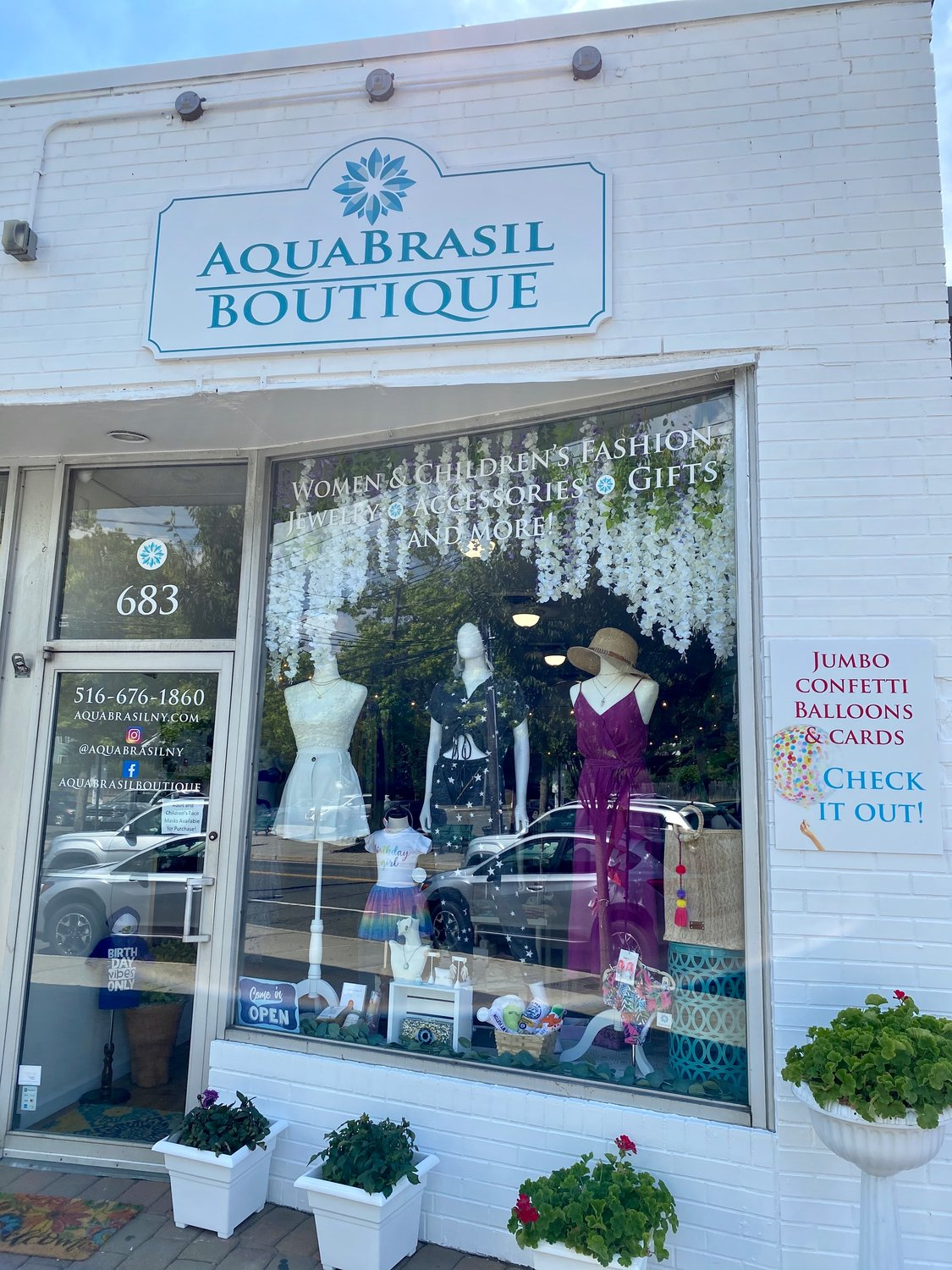 An array of jewelry, accessories and more can be found on AquaBrasil Boutique's online store and at its Glen Head storefront, which opened for in-person shopping in June.