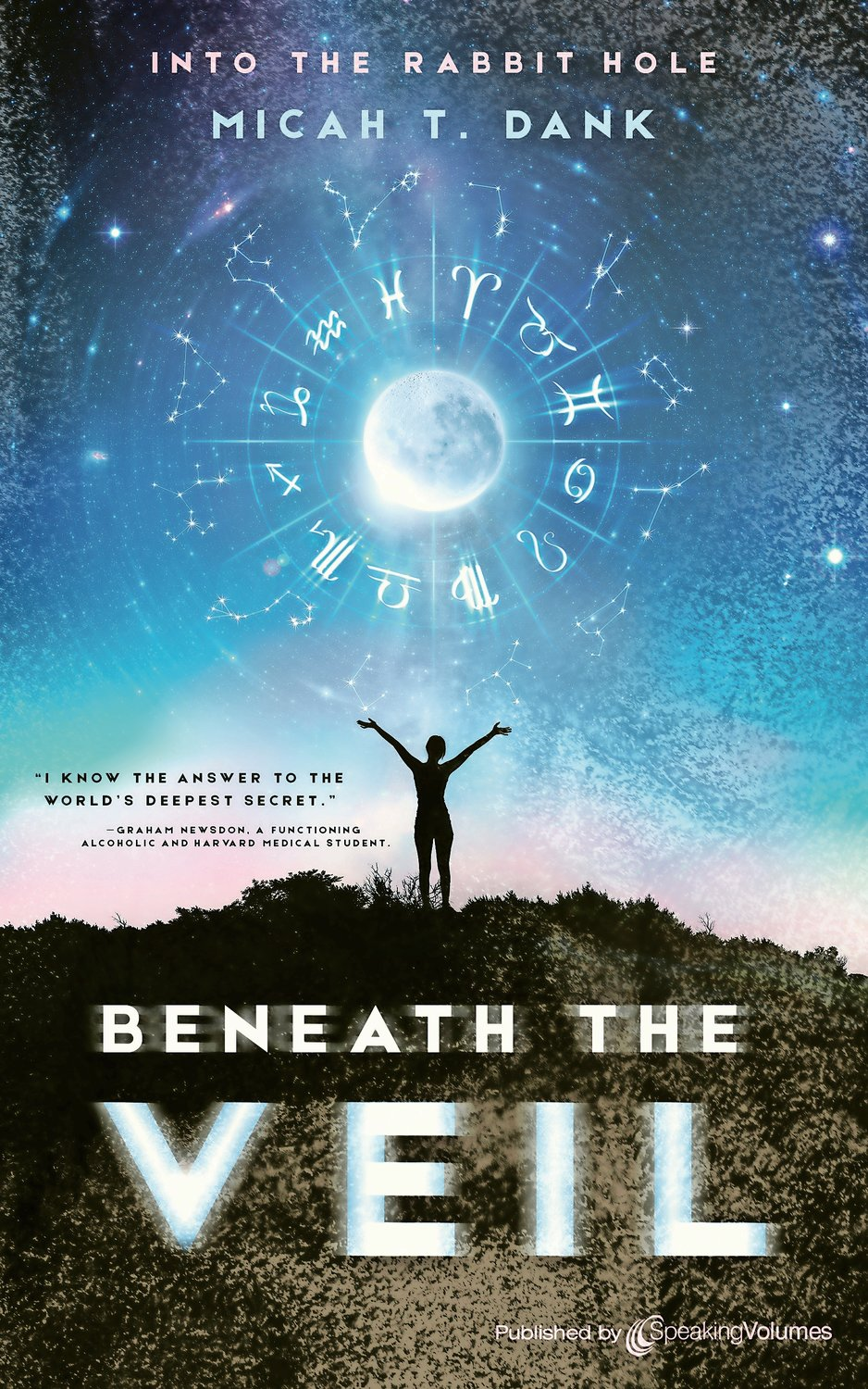 "Rockville Centre native Micah Dank's debut novel, ""Beneath the Veil,"" was released on June 30. It is the first of six books in his ""Into the Rabbit Hole"" series."