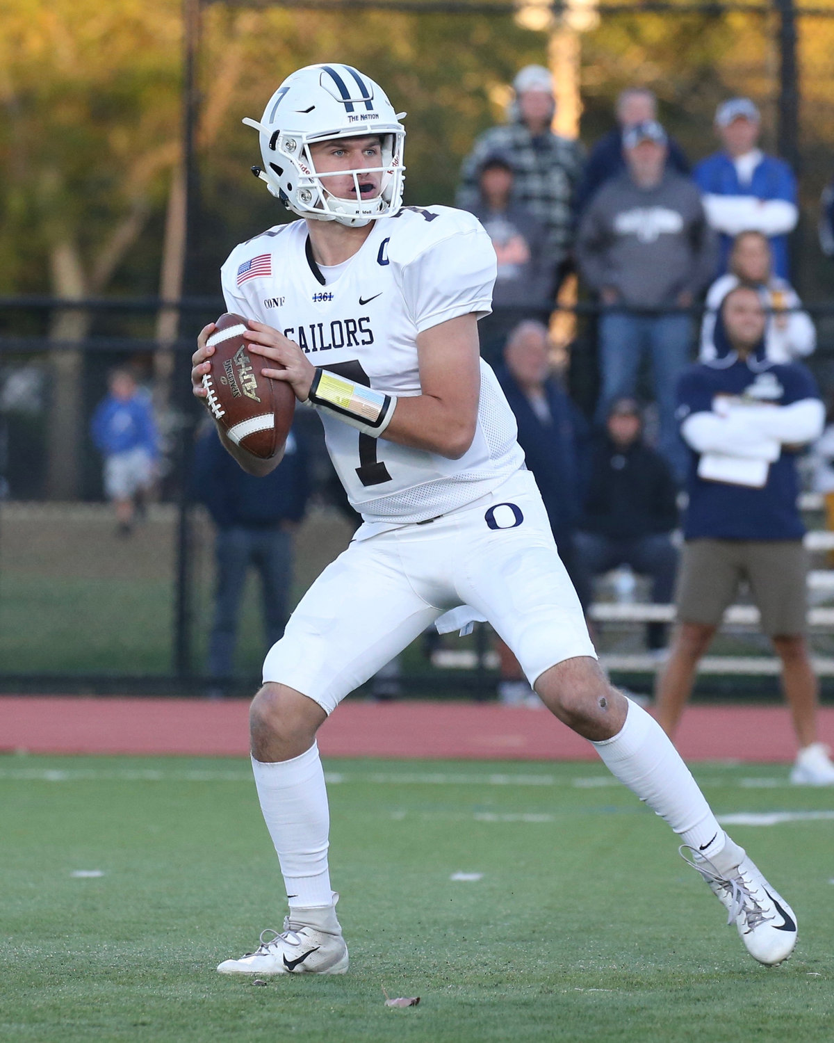 Oceanside quarterback Charlie McKee, a rising junior, has thrown for more than 5,000 yards and 50 touchdowns over his first two varsity seasons.