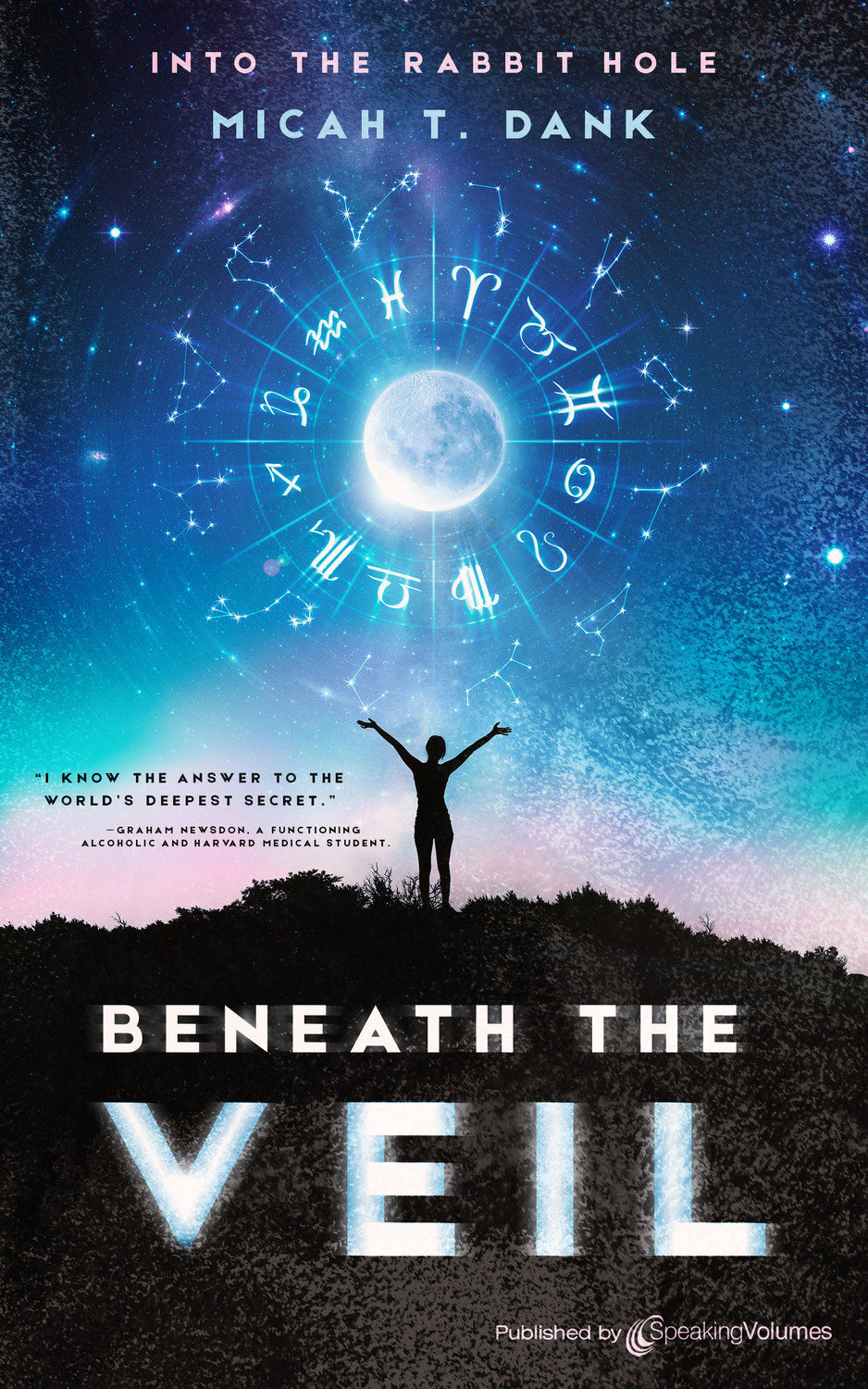 "Baldwin resident Micah Dank's debut novel, ""Beneath the Veil,"" was released on June 30. It is the first of six books in his ""Into the Rabbit Hole"" series."