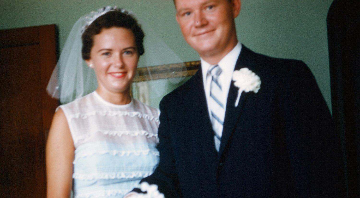 David Olsen and Bettie Jean Tucker were married for nearly 64 years before he died.