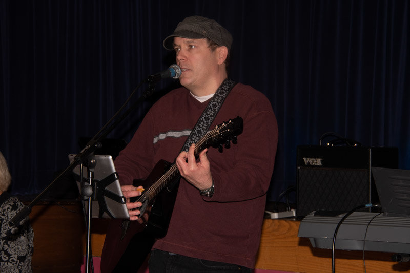 Musician and SPEAC member Tom Ryan played at last year's talent show, as well as a virtual one on Aug. 5.