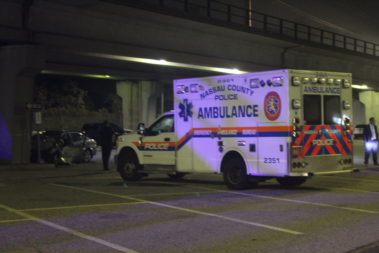 Nassau County police are investigating a fatal car accident that occurred on Tuesday night at the Long Island Rail Road station in Merrick.