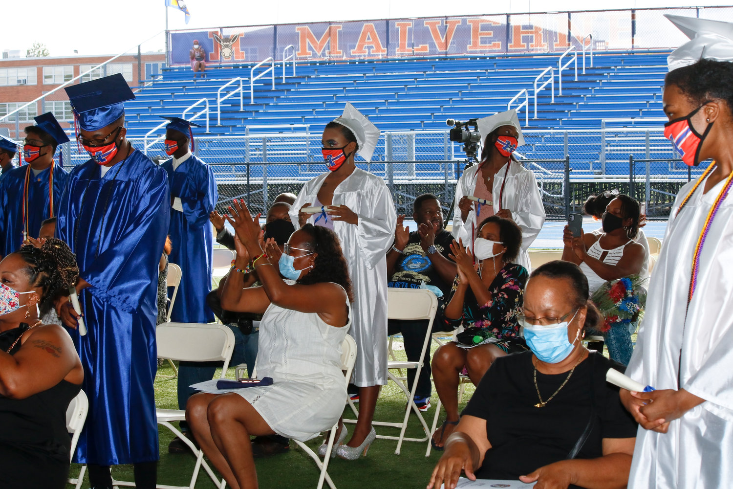 Malverne High School held its annual graduation ceremony for the class of 2020 on Aug. 7.