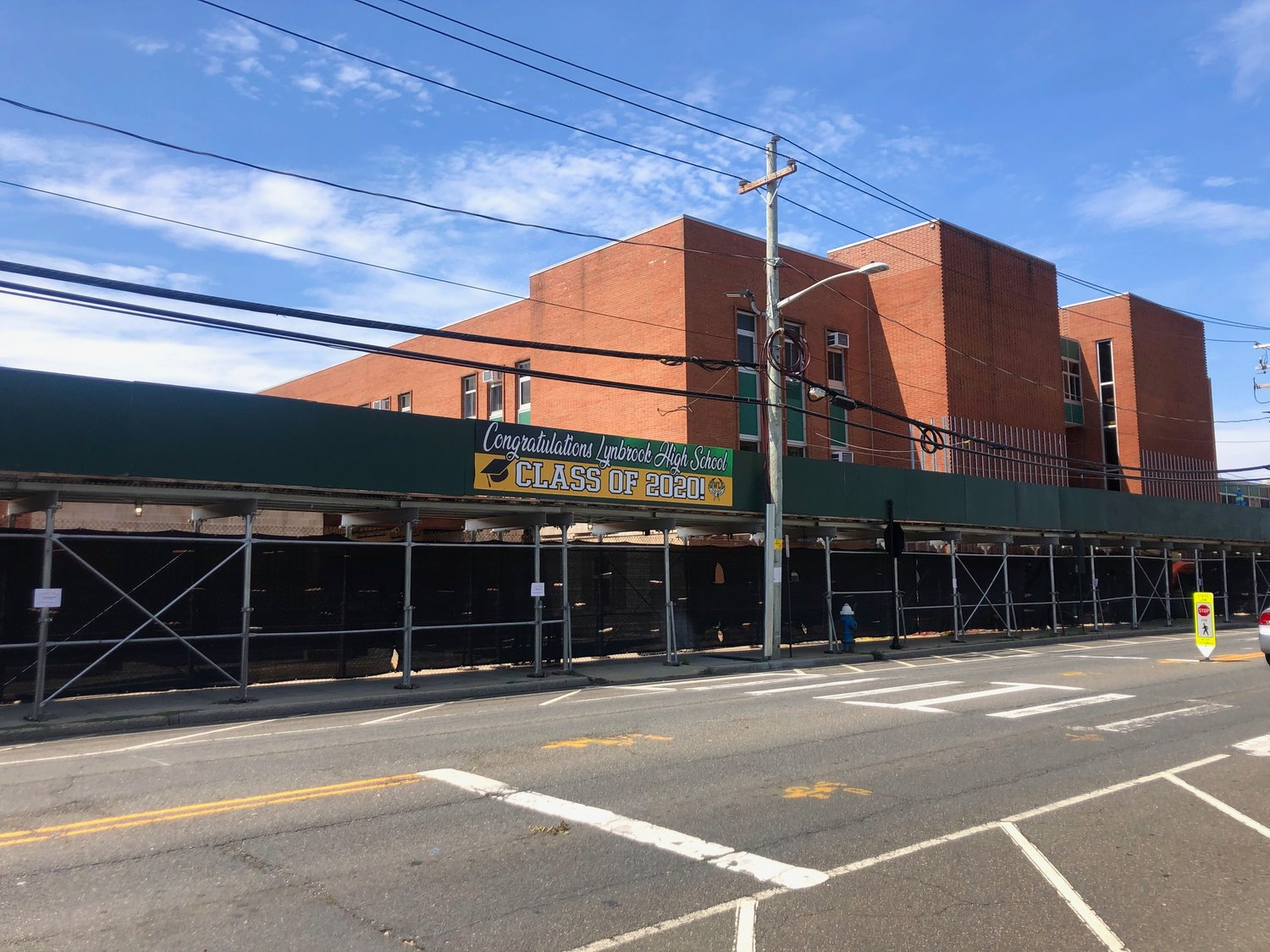 After a delay caused by the coronaivirus, renovations at Lynbrook High School and other district buildings are back on track.