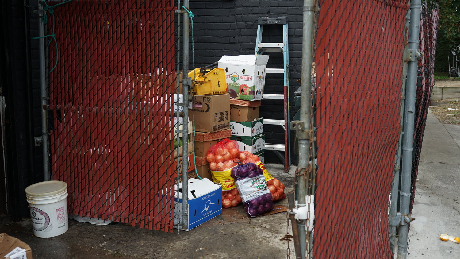 The Chicken Coop was forced to discard $10,000 to $15,000 in food because there was no refrigeration.