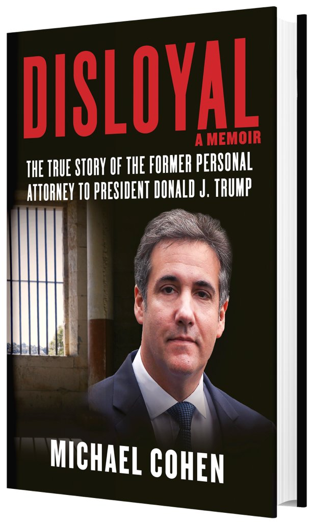 Former Donald Trump lawyer and Lawrence native Michael Cohen has a book 'Disloyal: A Memoir' coming out next month.
