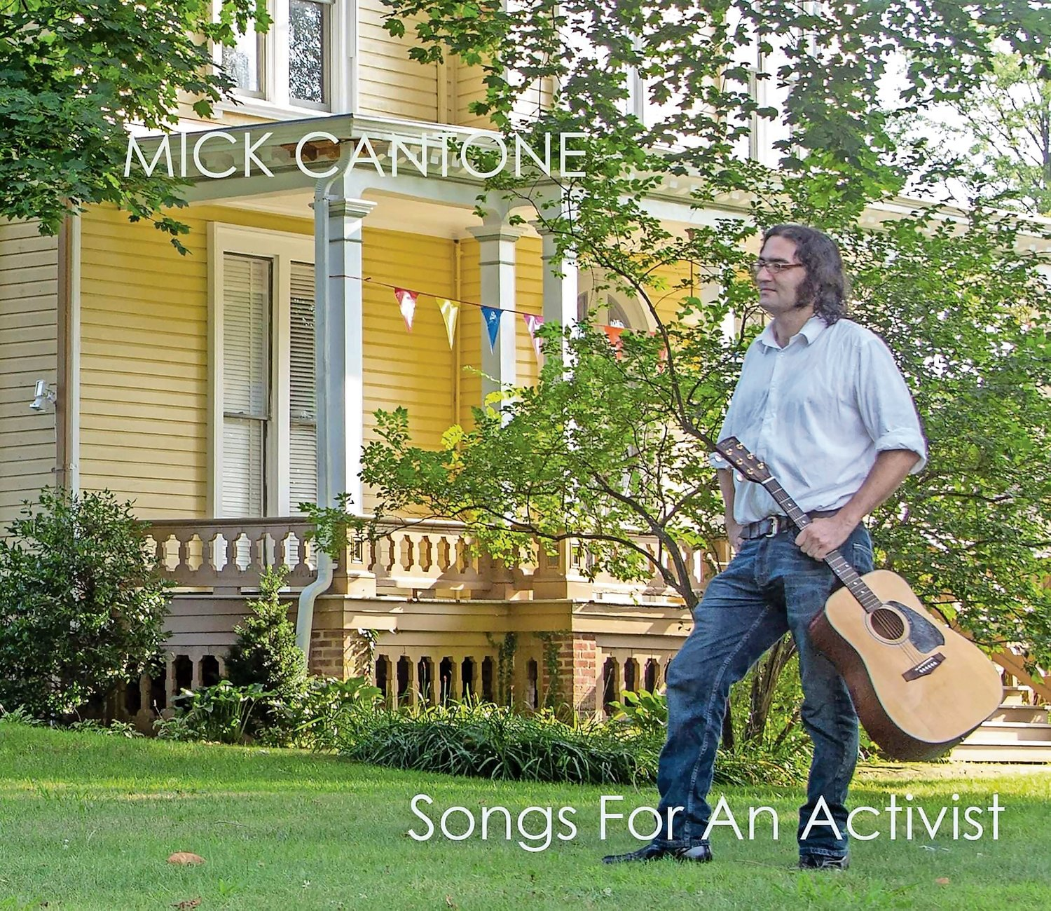 "Michael Cantone's album, ""Songs for an Activist,"" will be available on Bandcamp and YouTube Music on Sept. 4, and limited edition CDs will be released on Sept. 18."