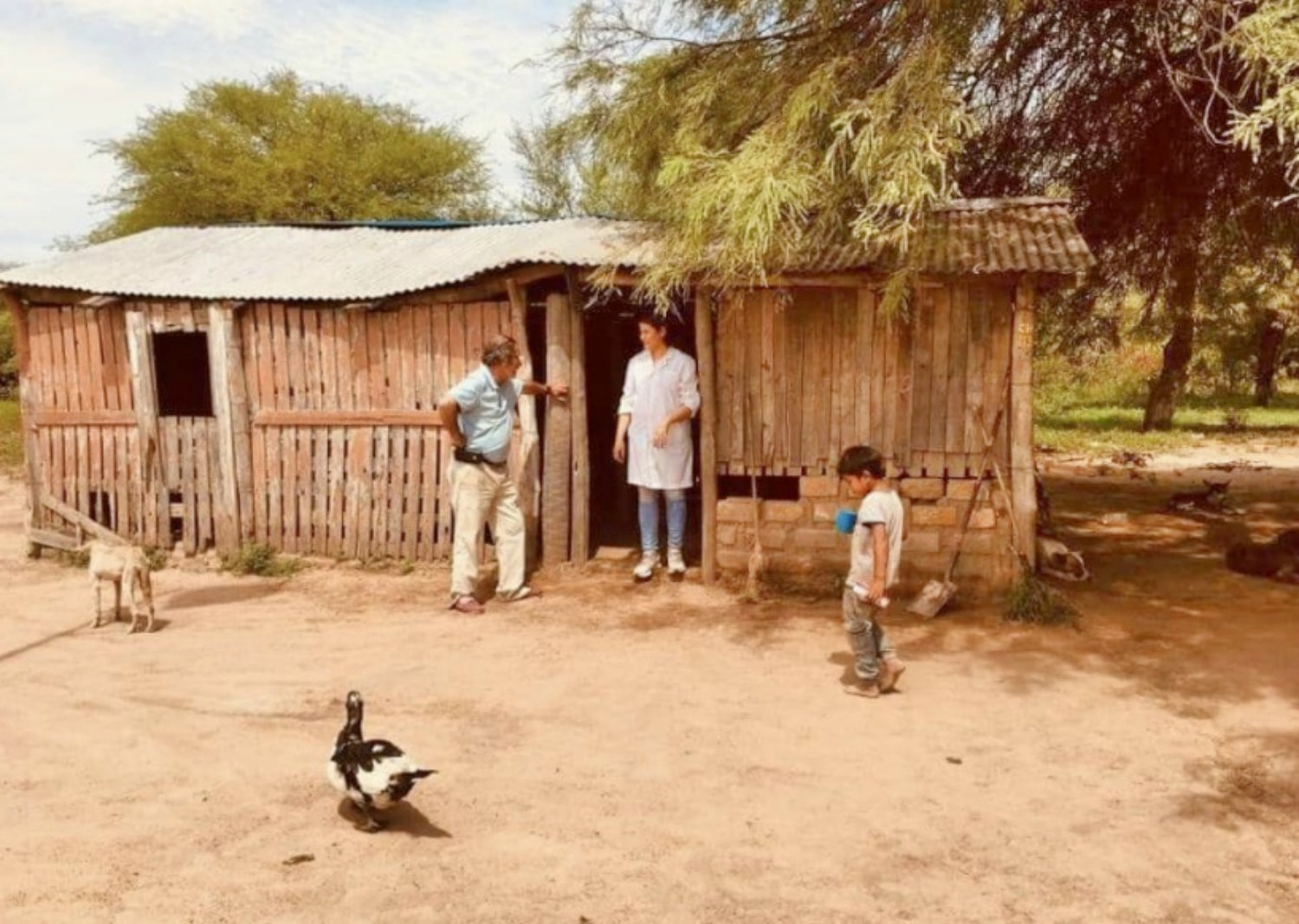 Through Comité Cívico Argentino, $500 was raised to build this school in the Northern Part of Argentina with activist Albert Guini.