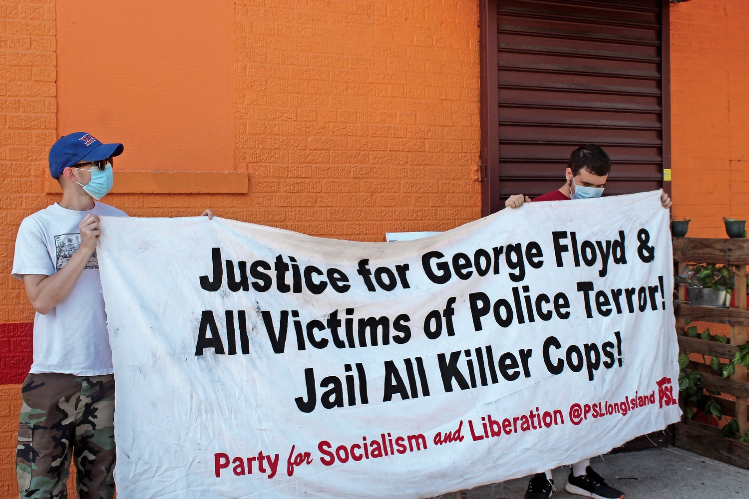 Protestors with the Party for Socialism and Liberation demanded answers about the police killing of Matthew Felix.
