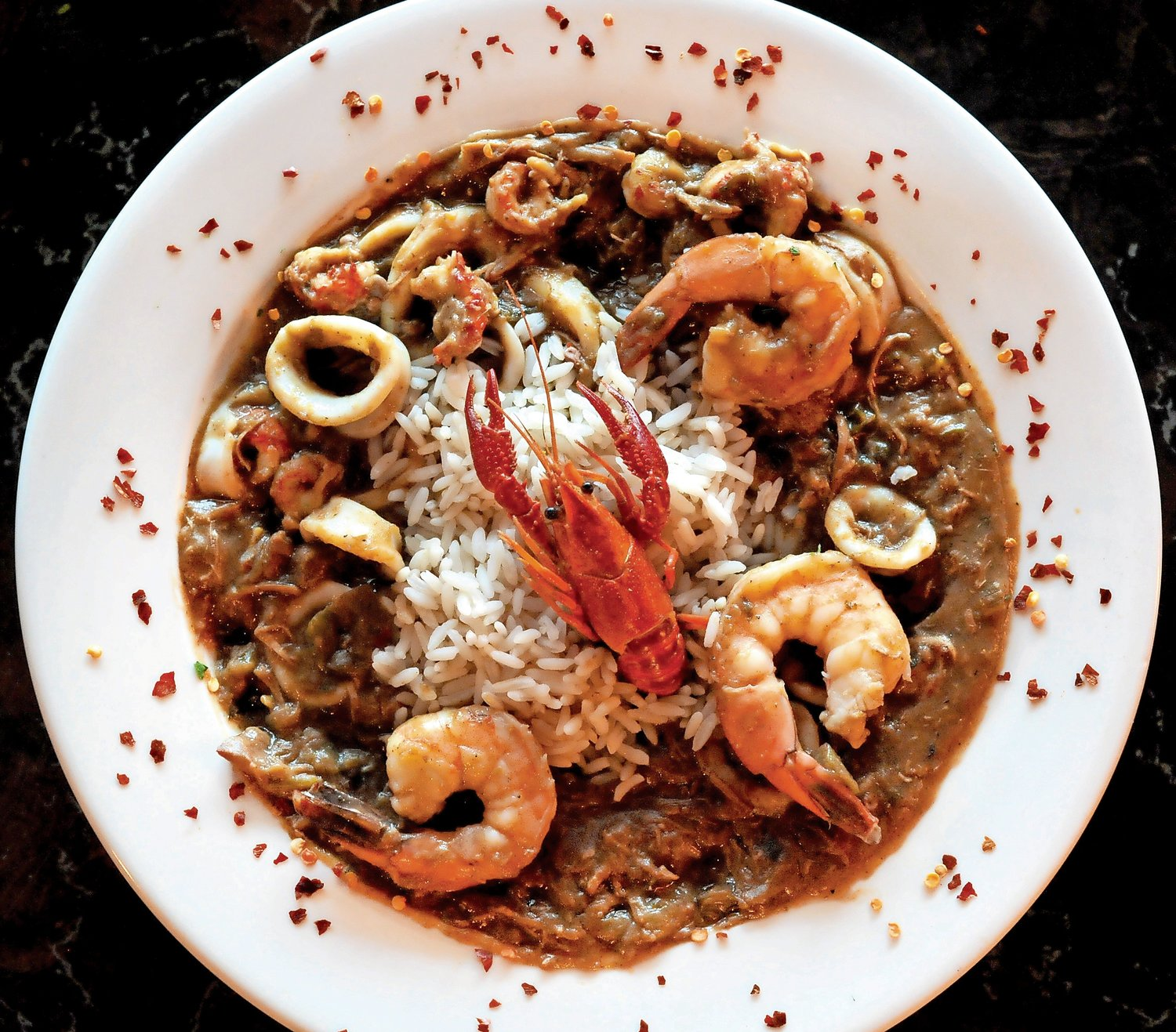 Bayou Jones' classic seafood gumbo gave diners a taste of something they never had before.