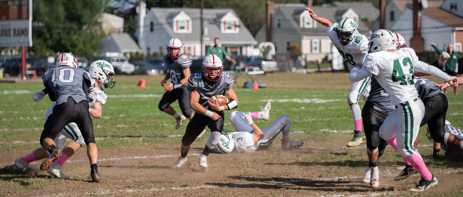 As of last week, sports were postponed this fall at schools across Nassau County, including W.T. Clarke High, whose football team had a successful season last year and won the Homecoming game against Locust Valley, 34-22.