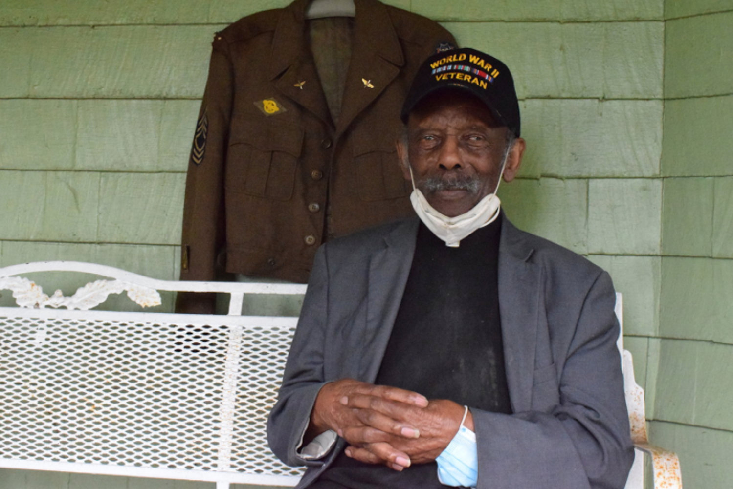 Members of the Freeport and East Meadow communities are raising money to fund a health care aid for 97-year old World War II veteran Rev. Eugene Purvis and his wife Dr. Sylvia Purvis.
