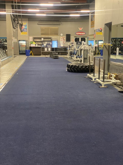 The fitness center is making sure to adhere to state reopening guidelines.