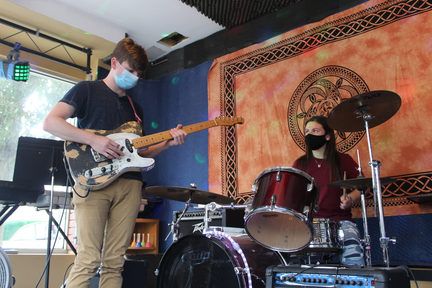 Bellmore residents Thomas Stoerger and Juliette Kealy, both 21, were some of the first students to enroll at The Rock Underground when it opened on Bedford Avenue 10 years ago. Now, they are the ones teaching the next generation of musicians.