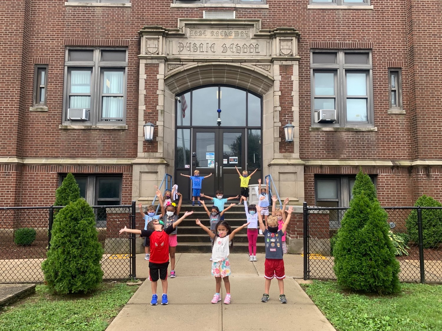 Students and staff returned to school last week in Lynbrook and East Rockaway. Students at Centre Avenue Elementary School were clearly excited to go back.