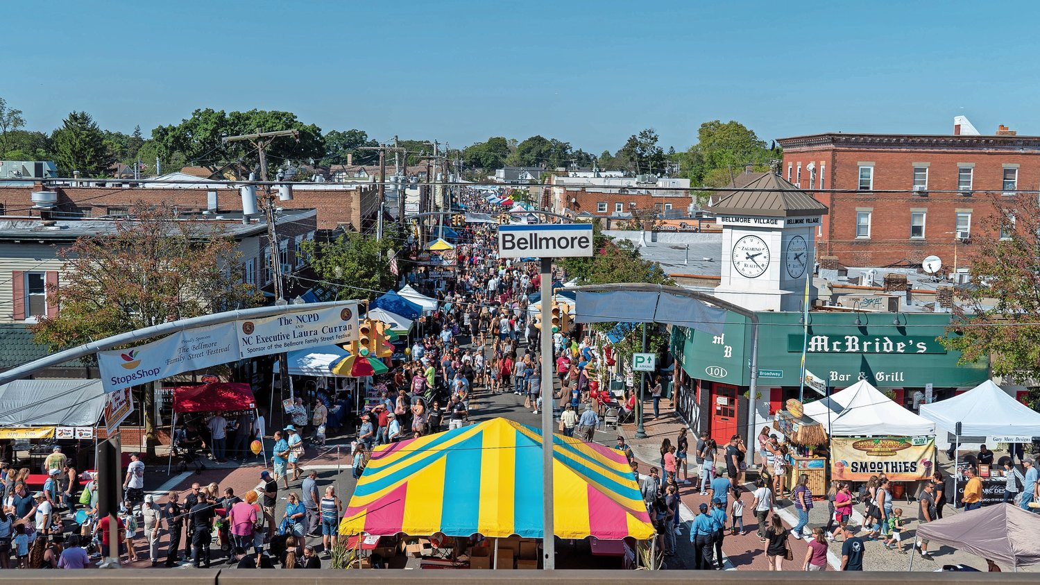 The Bellmore Street Festival, which attracts thousands of visitors to the hamlet every September, has been postponed until 2021 due to the coronavirus pandemic.
