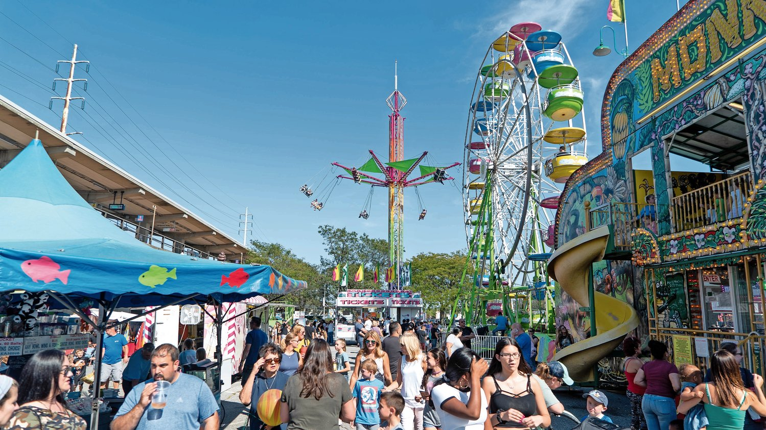 The Chamber of Commerce of the Bellmores, which hosts the annual street fair, may opt to hold a shopper's paradise in place of the festival, permit permitting.