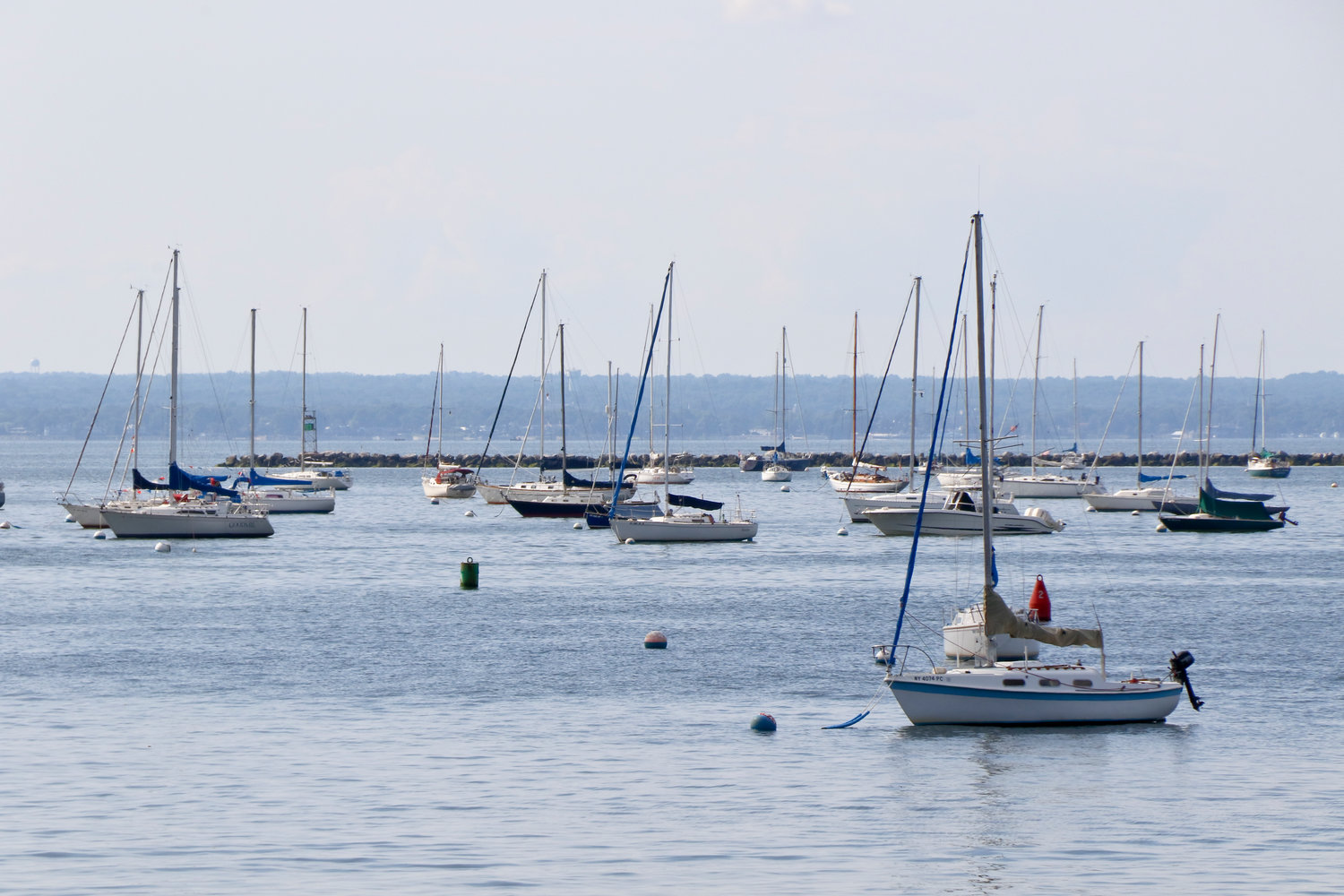 Countless boaters could be spotted enjoying the Long Island Sound through the season.