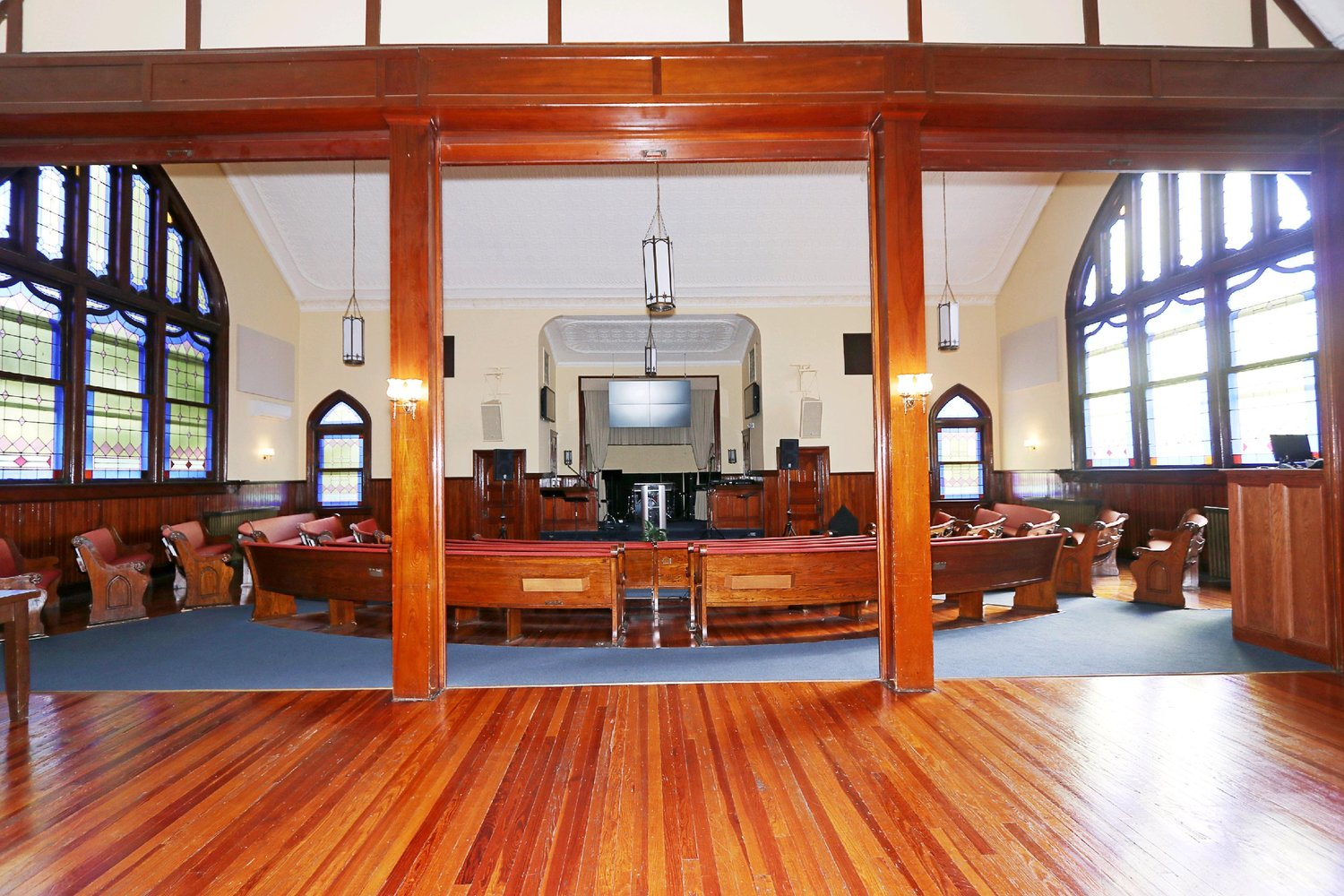 Edge City Church building interior