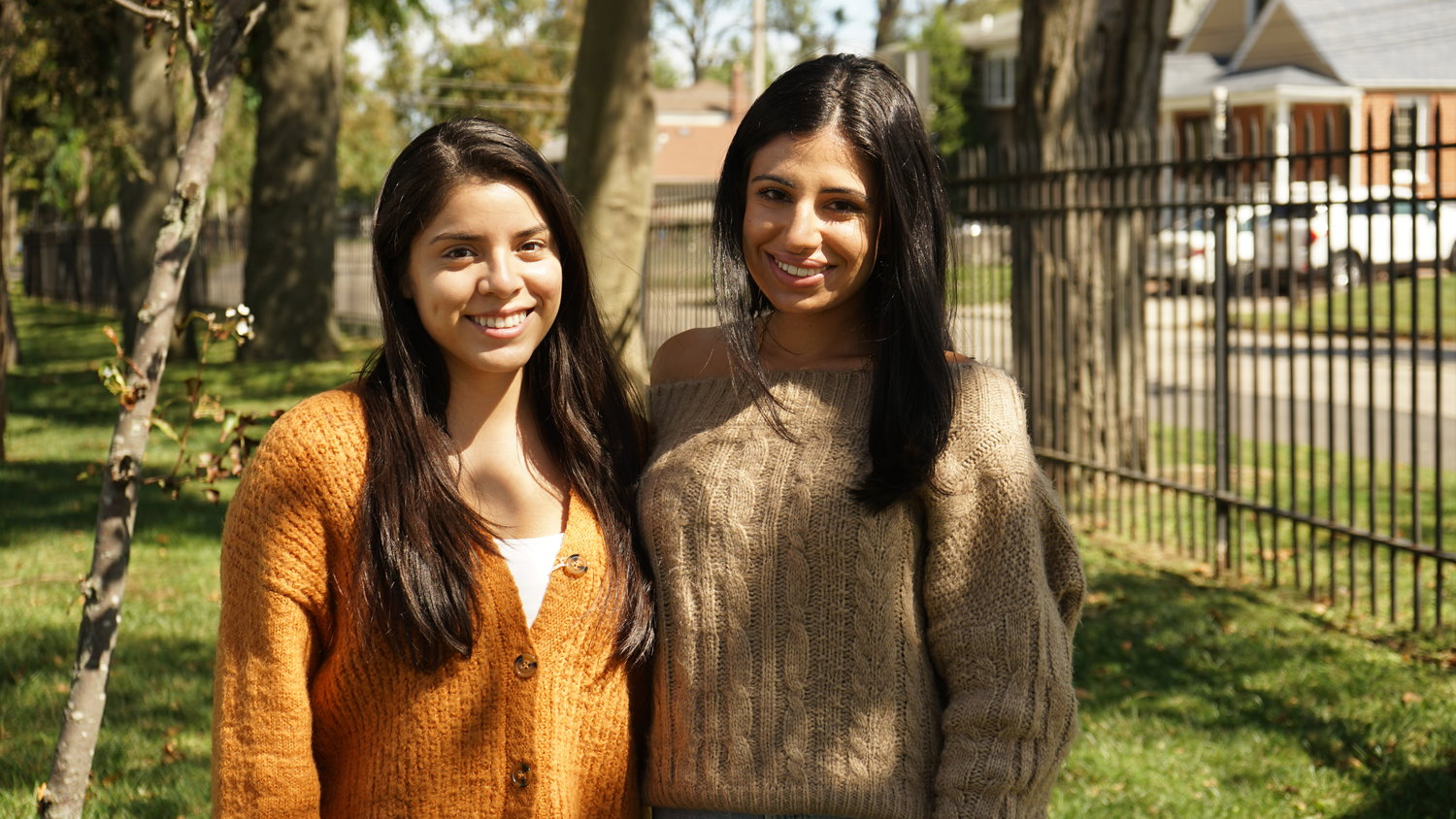 Valley Streamer Nataly Aguirre, left, and Olivia DiMeglio are co-founders of Valley Stream PEER, a mentorship program intended help disadvantaged students find and enter their careers of choice.