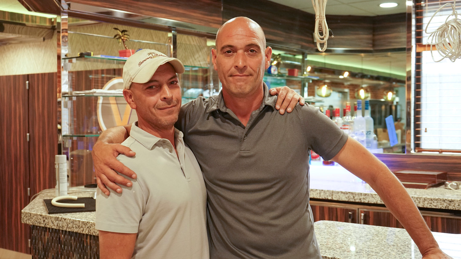Brothers Tommy, left, and Anthony DiStefano, owners of the Valbrook Diner, plan to reopen the restaurant in the coming weeks after they embarked on a roughly six-month renovation.