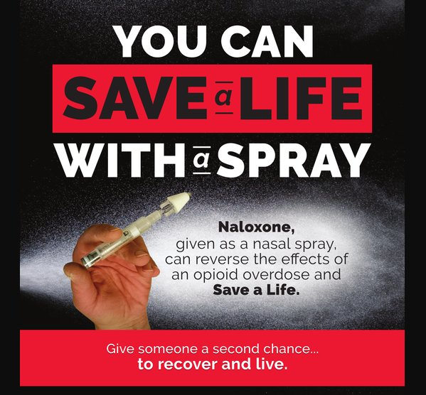 In support of Red Ribbon Week, the Tempo Group and Savings Lives Five Towns Drug & Alcohol Coalition will hold a free virtual naloxone training on Oct. 29.
