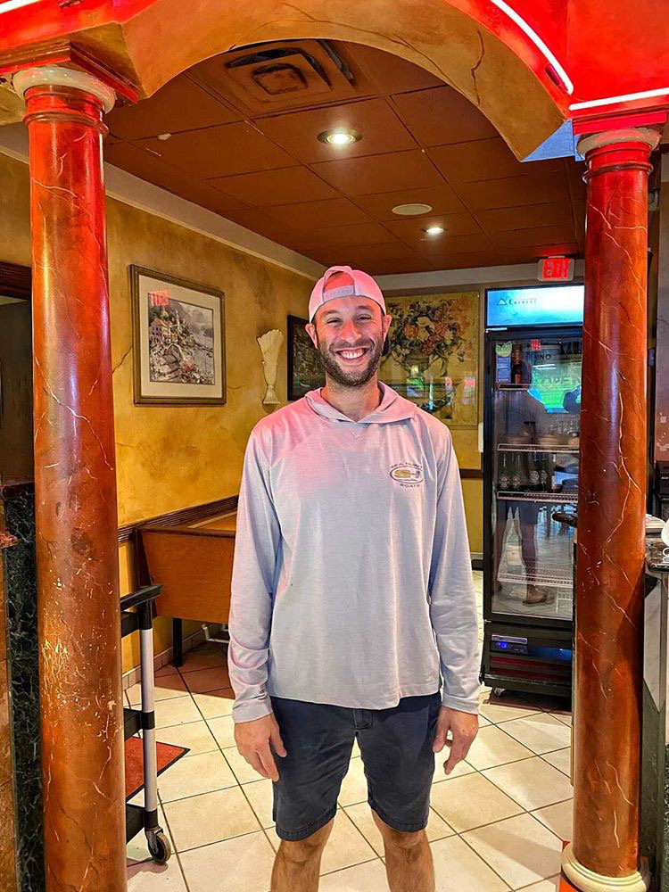 Ciro Pernice, the owner of Galleria Ristorante in North Merrick, will keep a portion of the eatery's dining room open for guests as it undergoes renovations in the coming months.
