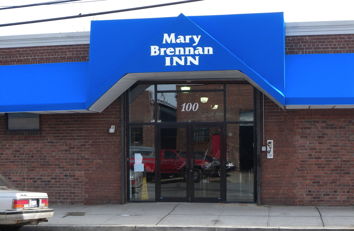 The Mary Brennan INN soup kitchen in Hempstead will hold a contactless Thanksgiving food drive this Saturday.