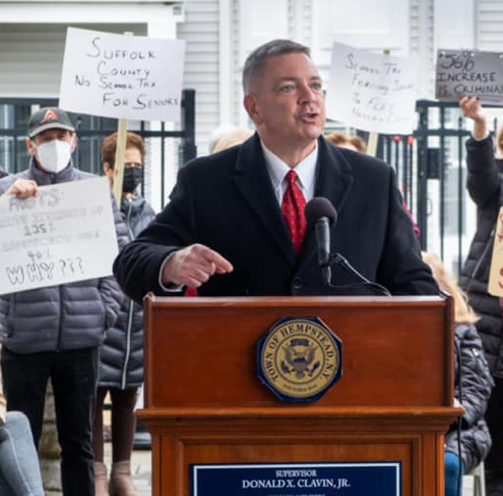 Nassau County Legislator Steve Rhoads voiced his concerns about how local governments are supposed to enforce Gov. Andrew Cuomo's new mandate of a maximum of 10 people per private residential gathering.