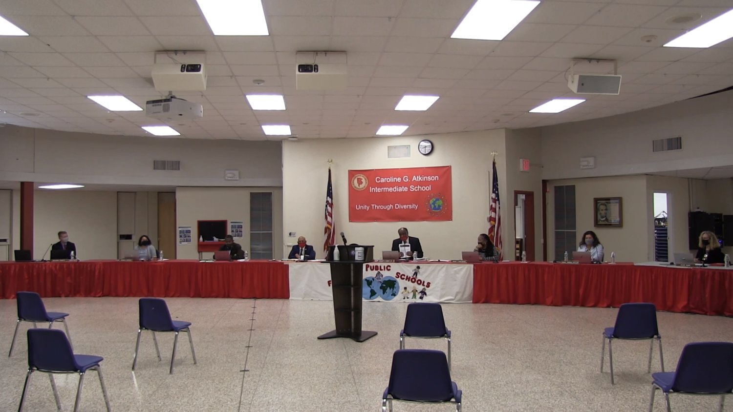 The Freeport School District Board of Education highlighted its Covid-19 response policy at a meeting on Nov. 18 as the village sees a renewed uptick in cases.