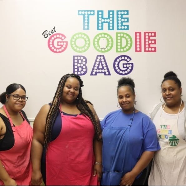 The full Best Goodie Bag crew: Dale Campbell, from left, Eleesa Abrams, Darlene Edwards and Caprice Campbell.