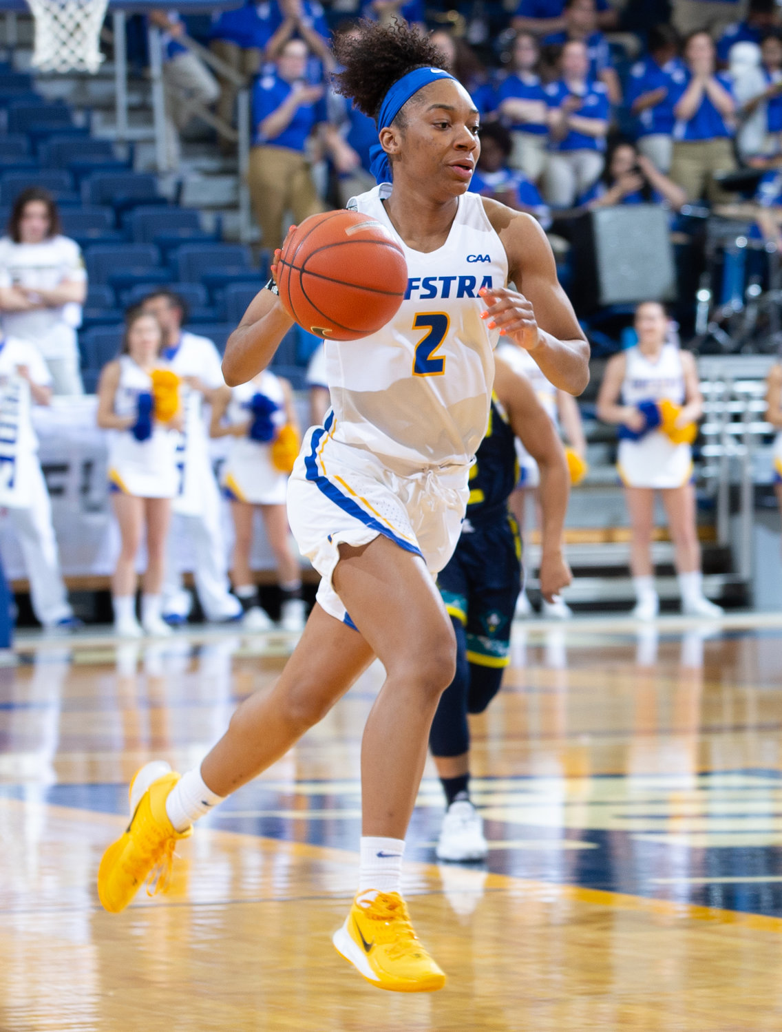 Junior guard JaKayla Brown made a dozen starts for the Pride last season and averaged 6 points per game.
