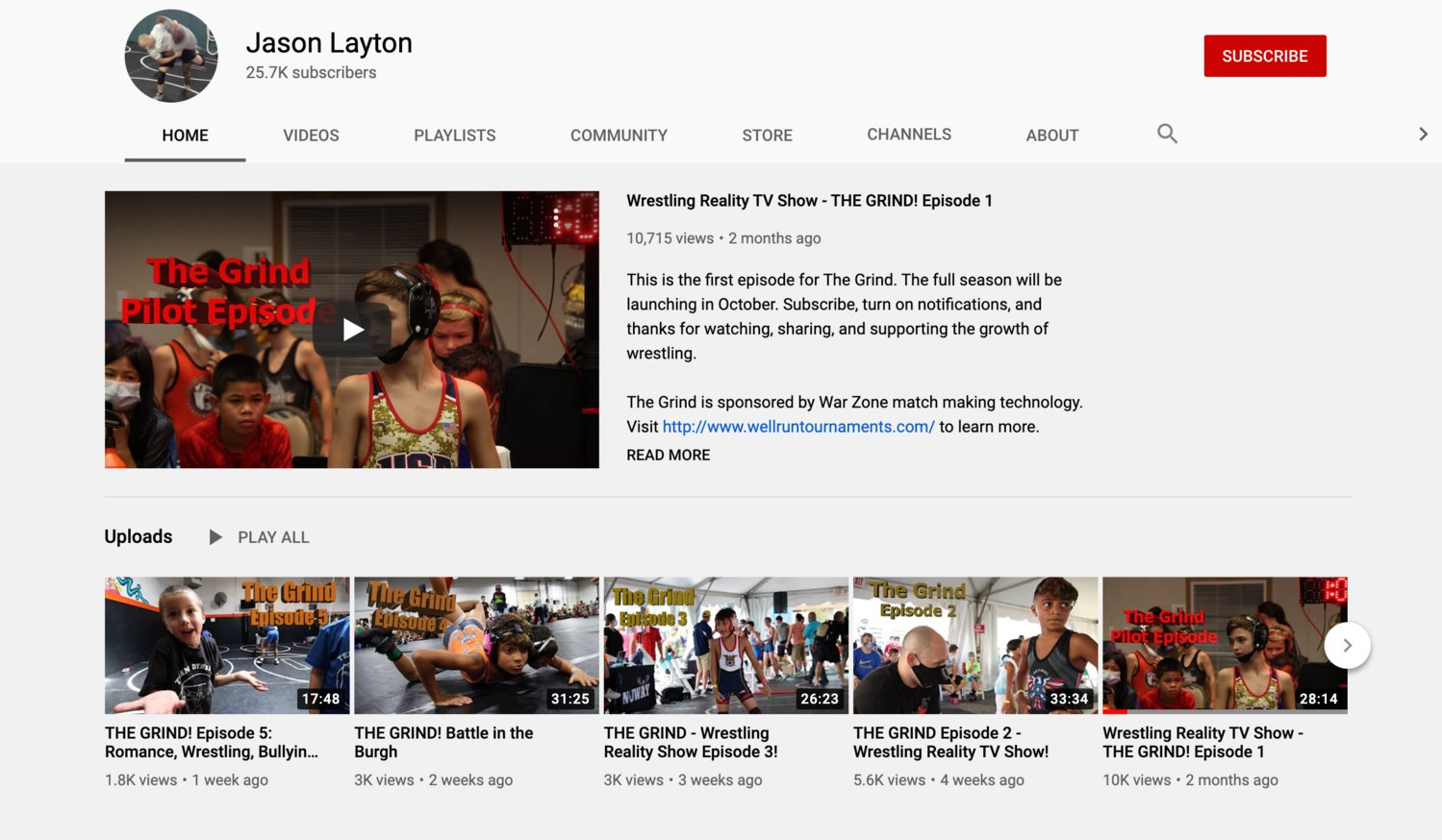 So far, Pekoff has posted five, roughly 25-minute episodes to Layton's YouTube channel, each of which has garnered thousands of views.