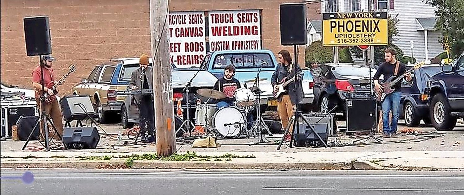 A band played at the Rock In Peace Fest in October.