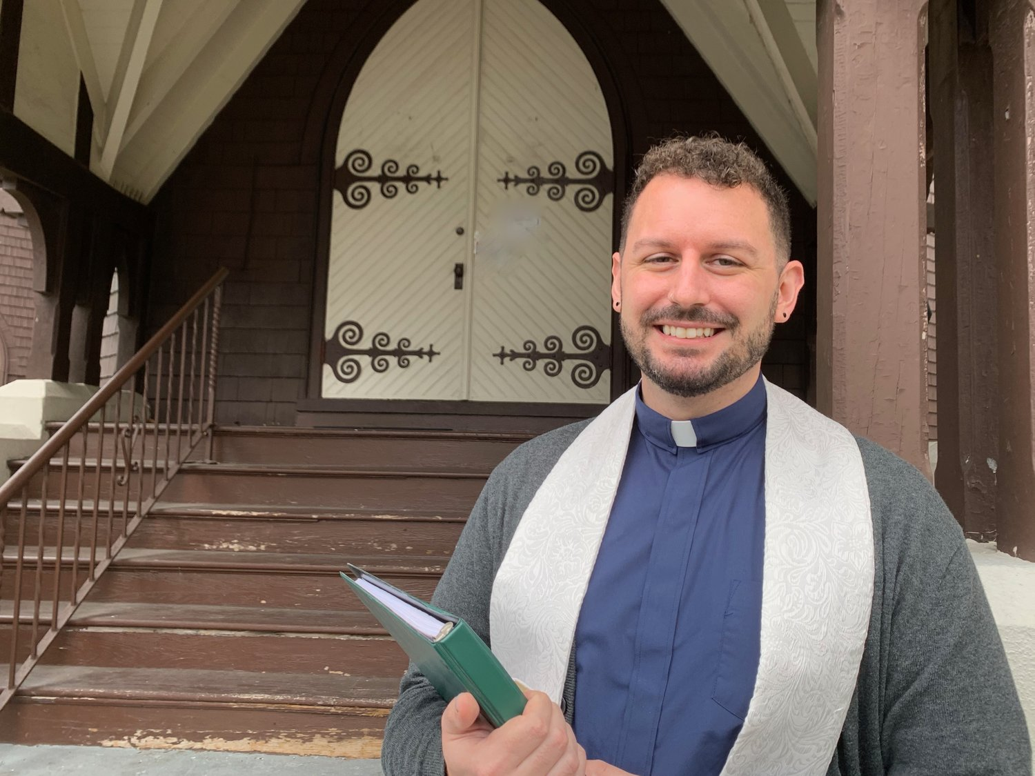 The Rev. Lance Hurst, 30, became pastor of First Presbyterian Church of Glen Cove on Nov. 1.