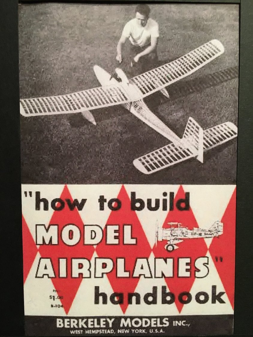 Berkeley Models, founded by William Effinger Jr. in 1933, featured numerous model airplanes.
