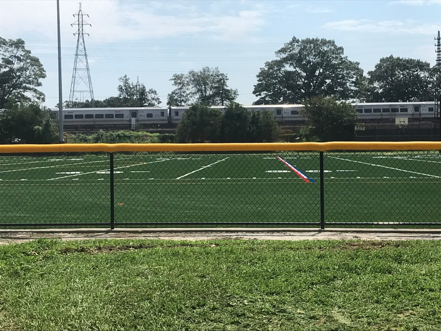 Artificial turf fields were installed at Greis Park late last year, and many more improvements are planned for the facility.